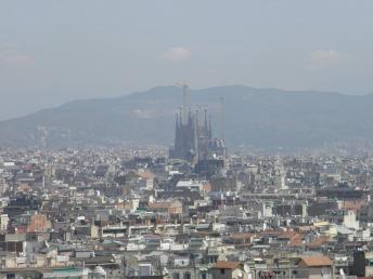 View of the City - La Sagrada Familia