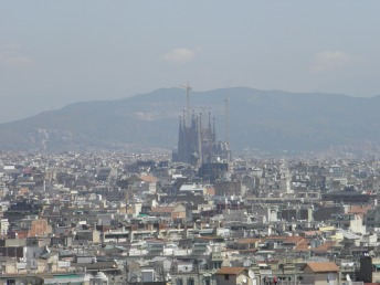 View of the City - La Sagrada Familia