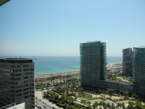View From Room - Hilton Diagonal
