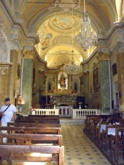 Inside Notre Dame de l'Assomption