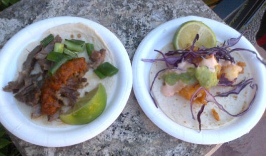 Taco de Rib-Eye & Shrimp Taco - Mexico